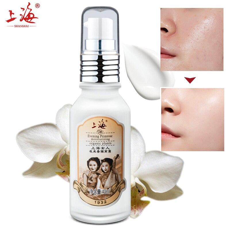 SHANG HAI Tuberose Baz Makyaj vakfı yüz beyazlatma krem makyaj astar Kapatıcı Nemlendirici yüz astar cilt bakımı