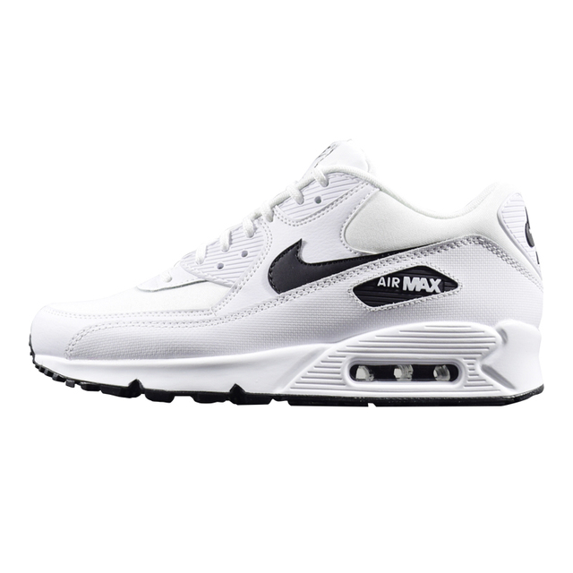 the best attitude 2863c f9538 NIKE AIR MAX 90 ESSENTIAL Women's Running Shoes, White, Lightweight  Non-Slip Abrasion Resistant Breathable 325213 131