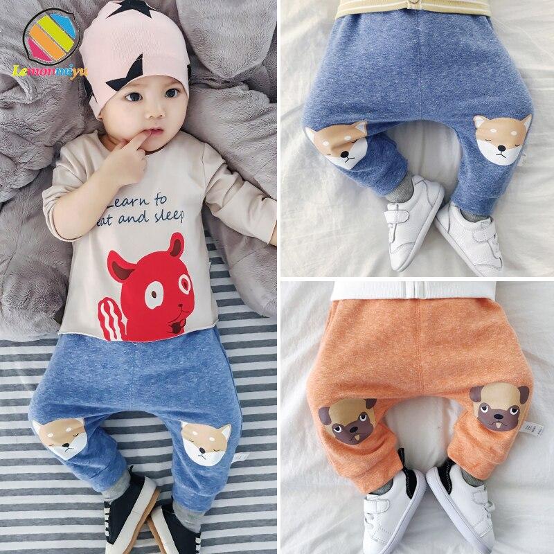 Lemonmiyu Pants Leggings Baby-Girl Trousers Harem Newborn Toddler Casual Cartoon