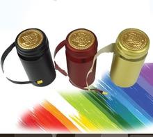 100 unids Pvc Tapa Del Encogimiento Del Calor de Alta Calidad Home Brewing Wine Bottle Cover Importación Materia Prima Botella Sello Bar BRICOLAJE accesorios