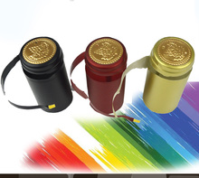 100pcs Pvc Heat Shrink Cap High Quality Home Brewing Wine Bottle Cover Import Row Material Bottle Seal Bar DIY Accessories цены