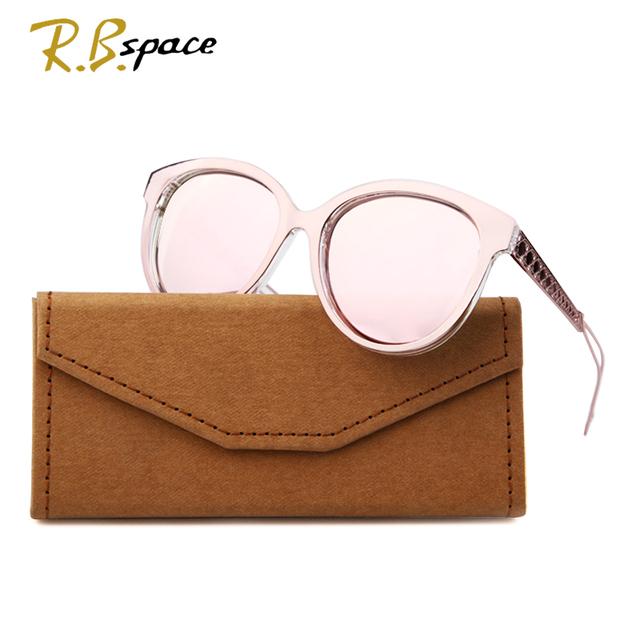 2017 Nova moda simples olho de gato óculos de sol mulher homem pc armação de metal óculos de sol óculos polarizados óculos de sol da marca do desenhador das mulheres