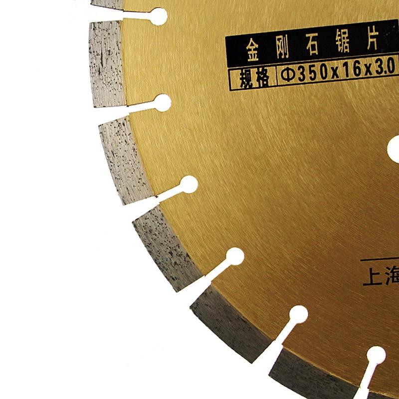 RIJILEI 372mm * 50 * 3 Super durevole tagliente affilato per taglio - Lama per sega - Fotografia 4