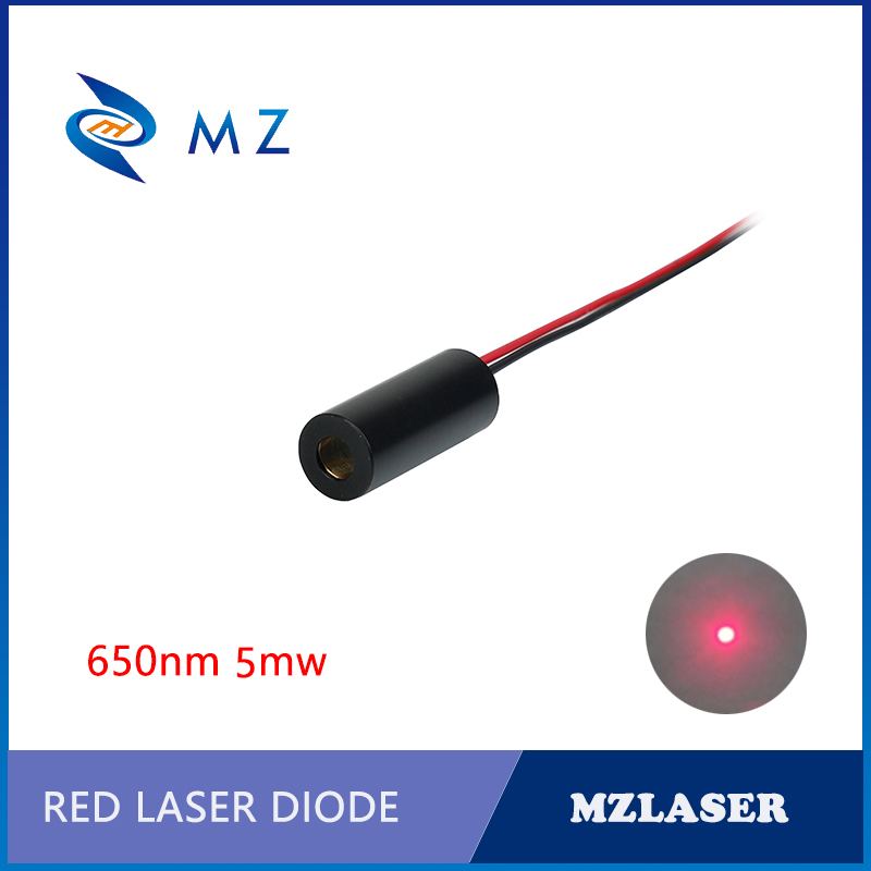 Standard 8mm 650nm 5mw Industrial APC Drives Red Dot Laser Module