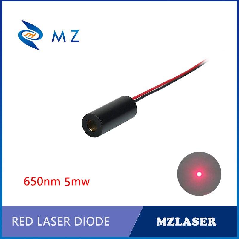 Standard 8mm 650nm 5mw Industrial APC Drives Red Dot Laser Module