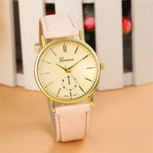 Durable 1PC Summer Style Women Leather Band Analog Quartz Watch Wholesale Fast Shipping