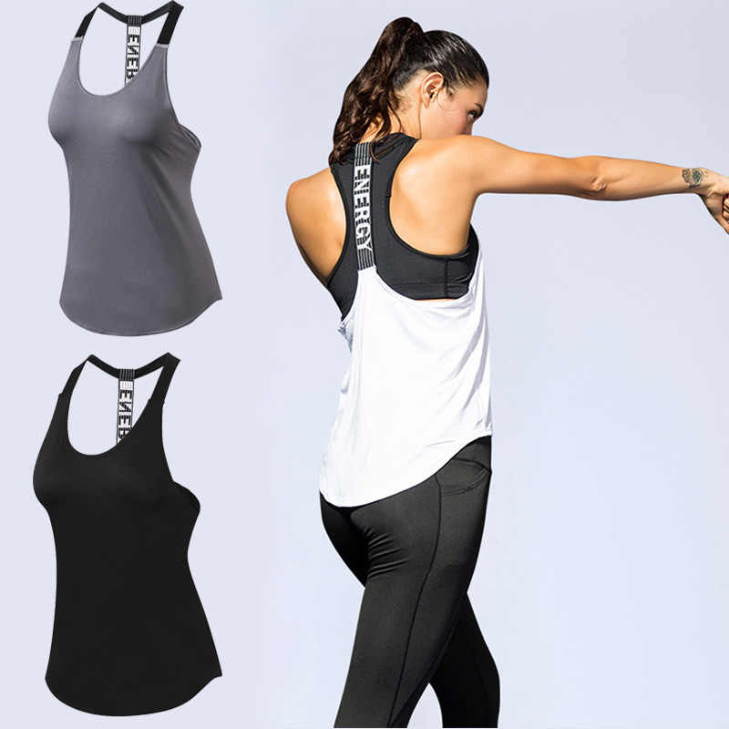Women Casual Loose Sports T-Shirts Hollow Out Sleeveless Fitness Vest Workout Running Sports Top Yoga Crop Top Gym Clothing