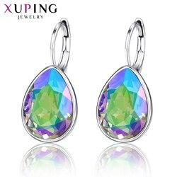 Xupingg модные серьги обруча кристаллами от Swarovski романтические ювелирные изделия вечерние Подарки для женщин M15-20504