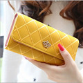 2017 Hot Summer Clutch Card Wallet Holder Handbag Bags Style Lady Faux Leather Long Purse Gift Top Quality Free Shipping N758