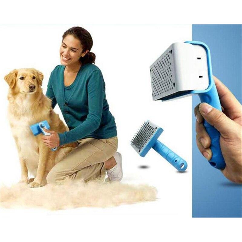 Pet Kürk Saç Bakım Tarak Köpek Saç Dökülme Köpek Kedi Için saç Fırçası Aracı Ürünleri Pet Saç Tarak Seçin Için 2 Renkler