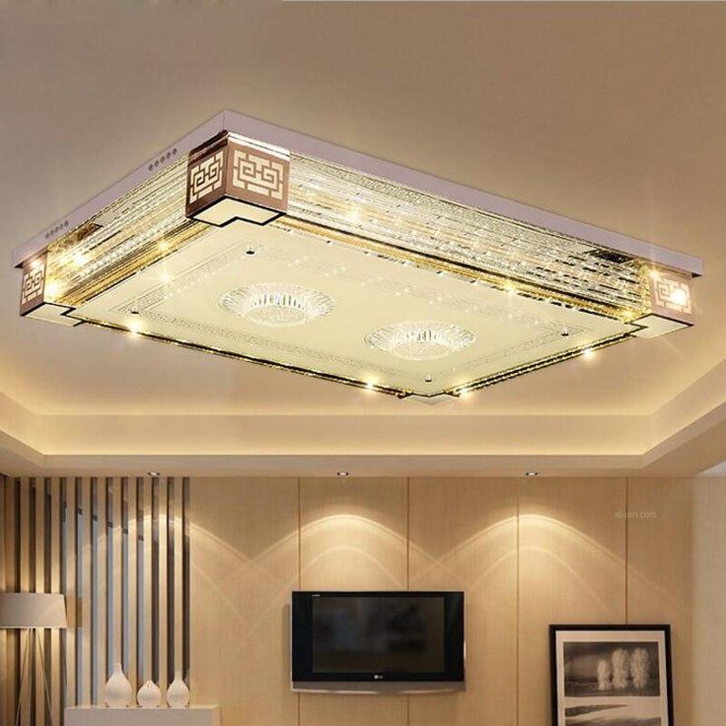 Luz de techo de cristal Lámparas de techo Sala de estar LED BrdCoex
