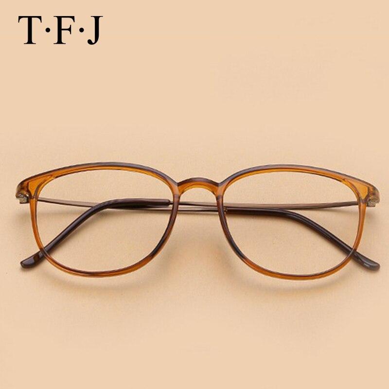2d285b26b TFJ Óculos de armação óculos de armação homens mulheres óculos enquadrar  oculos de grau prescrição espetáculo óptico óculos de computador em  Armações de ...