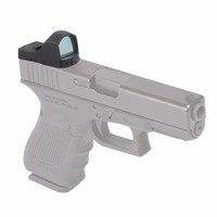 Vector Optics Tactical Pistol Glock Mini Reflex Green Dot Sight Scope / 5 Levels 3 MOA Dot Not Include Pistol Mount Base