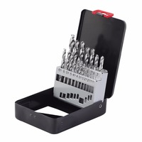 KSEIBI 598055 High Quality Danyang Metal bit group , HSS G iron Box 19 PC 1 10mm Tool Organizers