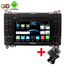 4G Octa Core 64BIT Android 6.0 Car DVD Player For Mercedes Benz Sprinter A B Class B200 Vito Viano W169 W245 W469 W906 GPS Radio