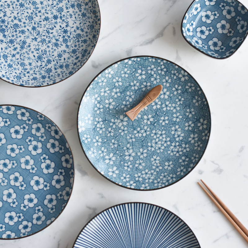 Japanese Ceramic Tableware Dinner Porcelain Dinnerware T Kitchen Plate Dishes for Restaurant White Porcelain Dishes \u0026 Plates-in Dishes \u0026 Plates from Home ...  sc 1 st  AliExpress.com & Japanese Ceramic Tableware Dinner Porcelain Dinnerware T Kitchen ...