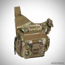 INDEPMAN Outdoor Sports Single-Shoulder/Messenger Bags Men Molle Military Tactical Backpacks 600D Nylon Camera Fishing