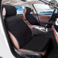 Faux Fur Universal Black Cushion Covers For Car Seat High Quality Car Seat Pad Megan 2
