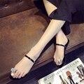 2017 Лето рим стиль женщины слайды горный хрусталь хорошего качества носок толстый плоским каблуках женские туфли модные дамы пляжные тапочки