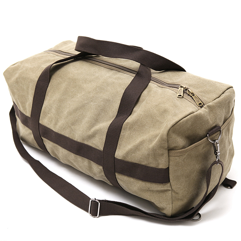 New Canvas Men Travel Bag Large Capacity Women Hand Luggage Travel Duffle Bag Weekend Bags Multifunctional Reistas Shoulder Bag 5