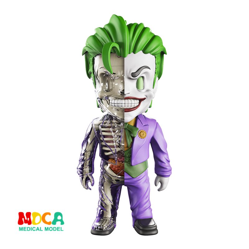 Big clown 4D XXRAY master Mighty Jaxx Jason Freeny anatomy Cartoon ornament robin hood 4d xxray master mighty jaxx jason freeny anatomy cartoon ornament