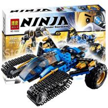 Hot New Bela Thunder Raider Toy 10222 Ninja Chariot Building sets 333Pcs/Set Bricks classic toys Compatible With Lego toy