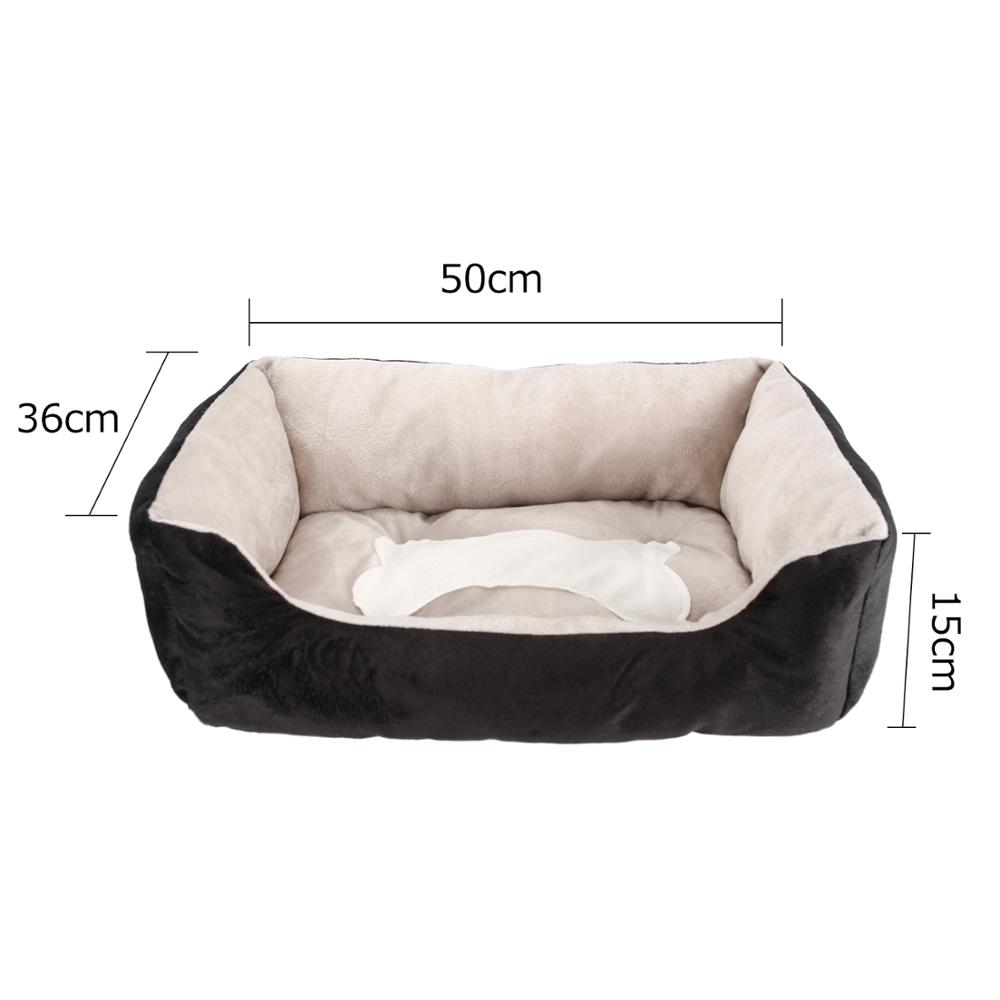 Removeable Pet Dog Beds Mats Cute Dog House Bed Washable Puppy Nest Soft Warm Cat Beds Kennel Waterproof Couch Sofa for Dog Hot in Houses Kennels Pens from Home Garden