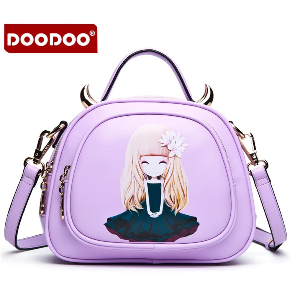 ФОТО 2016 Autumn printing women bag Lovely messenger bag