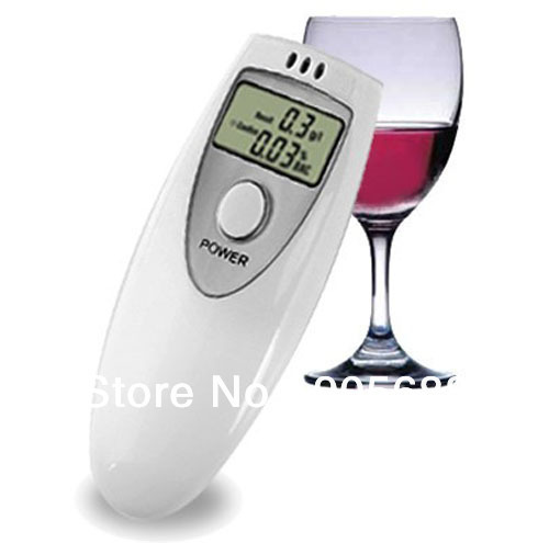 Free shipping Digital Alcohol Breath Tester Breathalyzer Breathalizer
