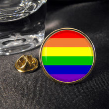 High quality Gay Rainbow Peace Lapel Pin Badge Gift low price rainbow lapel pin FH680030