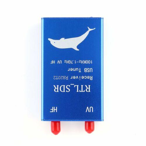 RTL2832U+R820T2 100KHz-1.7GHz UHF VHF HF RTL.SDR USB Tuner Receiver AM FM Radio