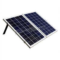 Eco worthy 50W Foldable Folding Poly Solar Panel Portable Complete Kit for 12V Camping Boat RV