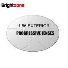 Lentes de aptitud para CR-39 HC, lente graduada para personas de mediana edad, ver cerca y lejos, multienfoque, para Exterior, 1,56