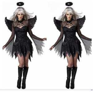 women costume adult halloween cosplay black fancy dress