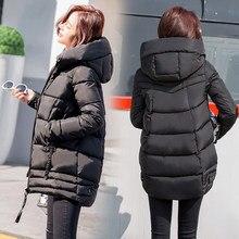 4e1f5af8a5a9 Новая осенне-зимняя женская куртка, теплая куртка, Женская куртка-пуховик,  утепленные парки для беременных, пуховик для беременн.