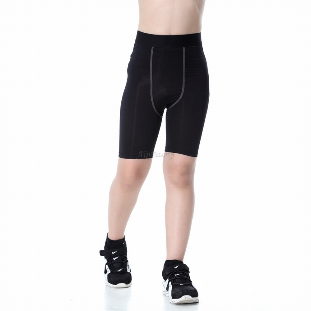 2018 Yoga Five Workout shorts Pants Children Jogging Fitness Boys Sweatpants Girls Tight Gym Sports High Quality in Yoga Shorts from Sports Entertainment