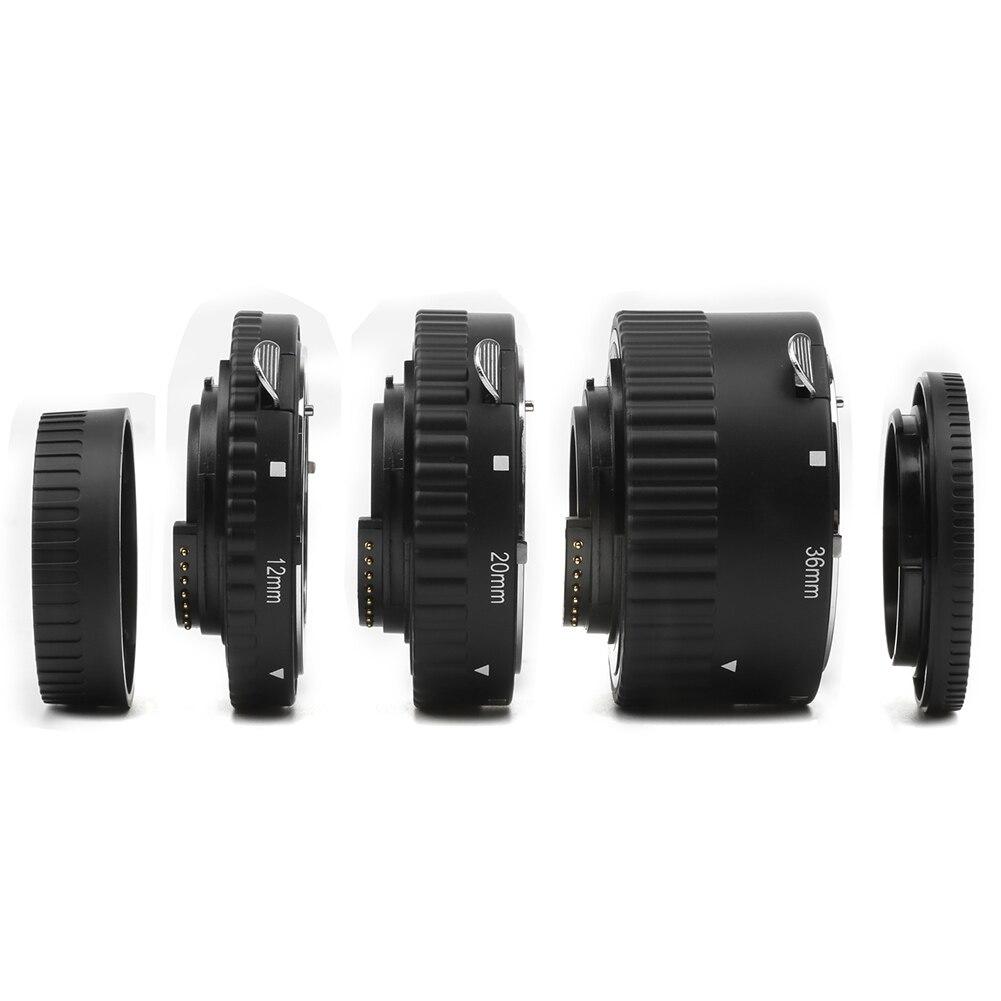 Haute qualité 1 Set Tube d'extension de caméra mise au point automatique micro-éperon anneau de photographie pour Nikon