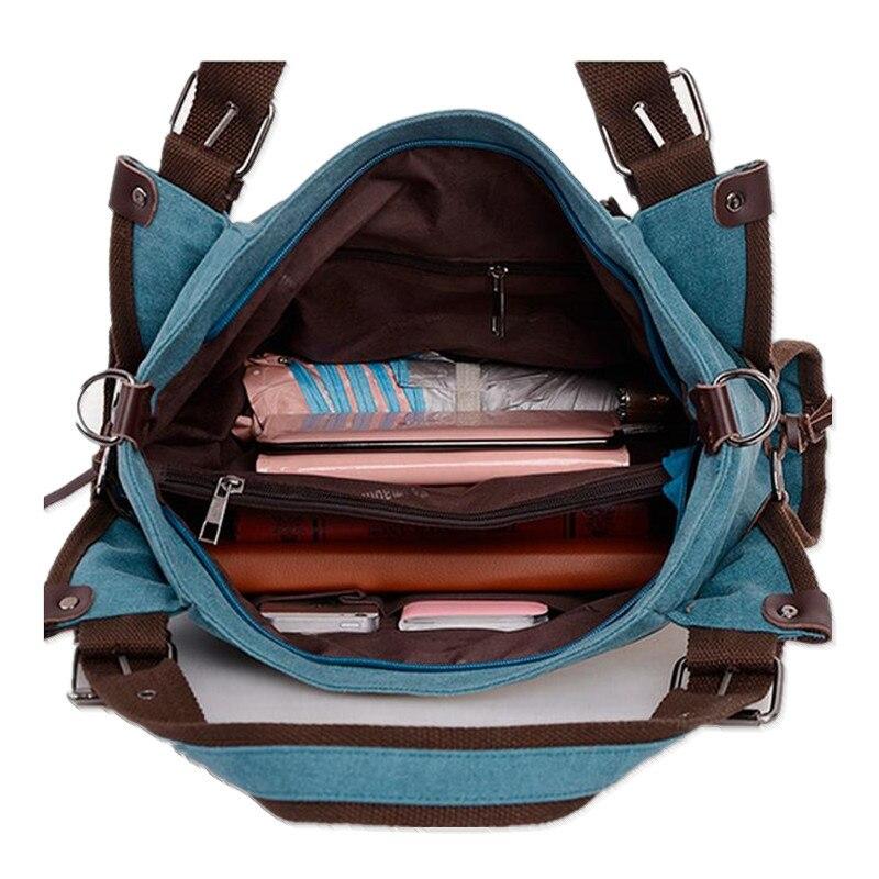 e6636d1ee844 US $24.25 |Canvas Shoulder Bags women handbags large Vintage Tote Bag  Trendy Shoulder Bag for girl women designer handbag high quality 2015-in ...