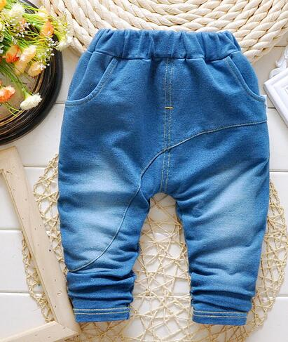2016 New Spring Baby Pants Boys Trousers Jeans Baby Boy Pants Baby Clothing Harem Pants Cotton Children's clothing Free shipping