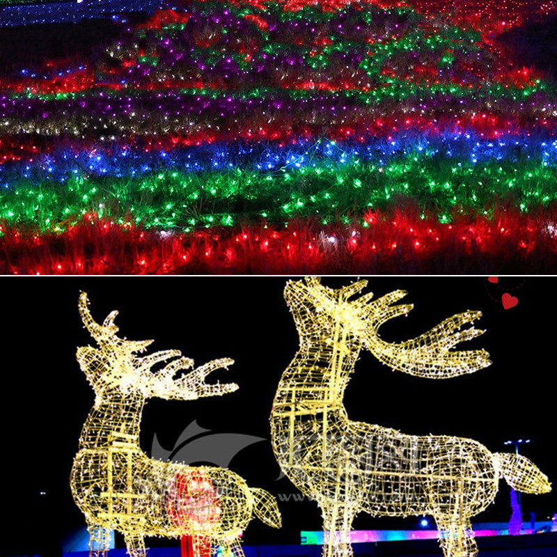 LED Lantern Flashing Lights Outdoor Waterproof Wedding Lighting Christmas Bars Copper Small String Light Drop Shipping