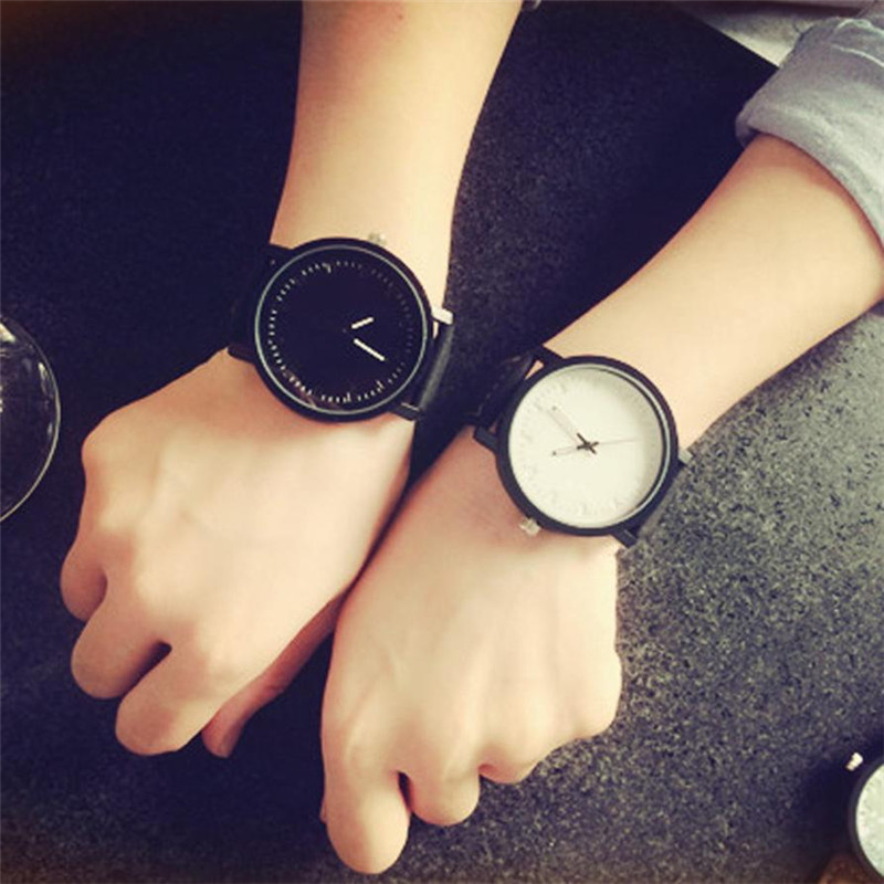 Hot 2017 New Fashion Superior Unisex Men Women High Quality Quartz Analog Lovers' Wrist Watch Watches Gift Levert Dropship
