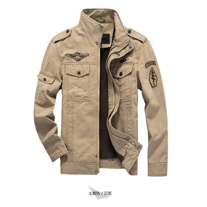 Formateur Kaki Hommes Coton 2016 Mâle Marque Marine Green Ceket I7t0Ixwd