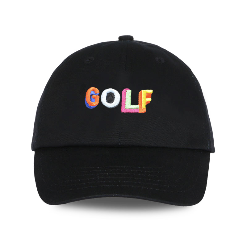 Cora Wang 2018 Dad Hat Golf Tyler The Creator Snapback Casquette Bone Gorras Black Tactical Baseball Cap Dad Hat Sun Hat For Men
