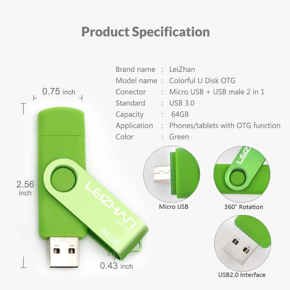 Высокое качество Micro OTG usb-флэш-накопитель Флеш накопитель 16 Гб памяти 32 Гб флешки 8 ГБ, 64 ГБ и 128 ГБ Android карту флэш-памяти с интерфейсом usb cle usb