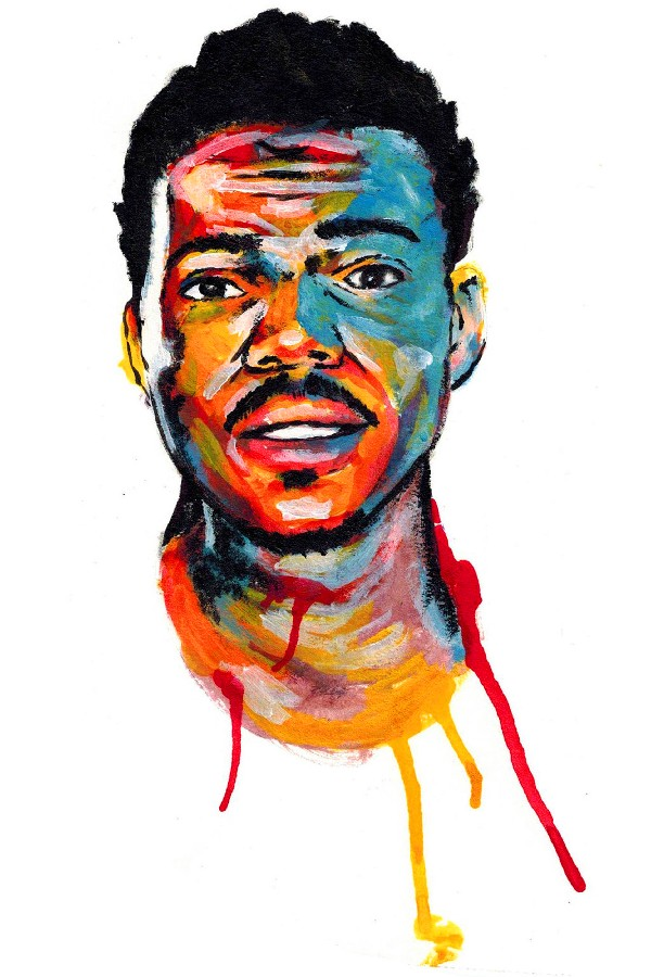 Chance the Rapper Acid Rap Fabric Art silk Cloth Posters print art wall Decor