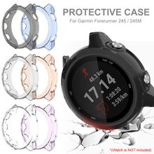 High Quality TPU Protective Case Protection Cover Shell For Garmin Forerunner 245/245M Smart Watch