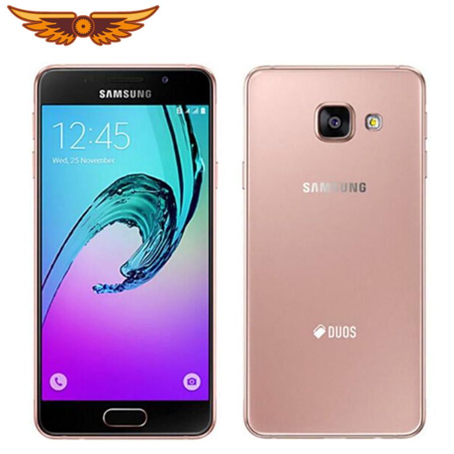 Original Samsung Galaxy A3 A3000 Quad-Core 4.5 Inch 1GB RAM 8GB ROM Dual Sim Android 4.4 OS 4G 8.0MP Camera Unlocked Cellphone