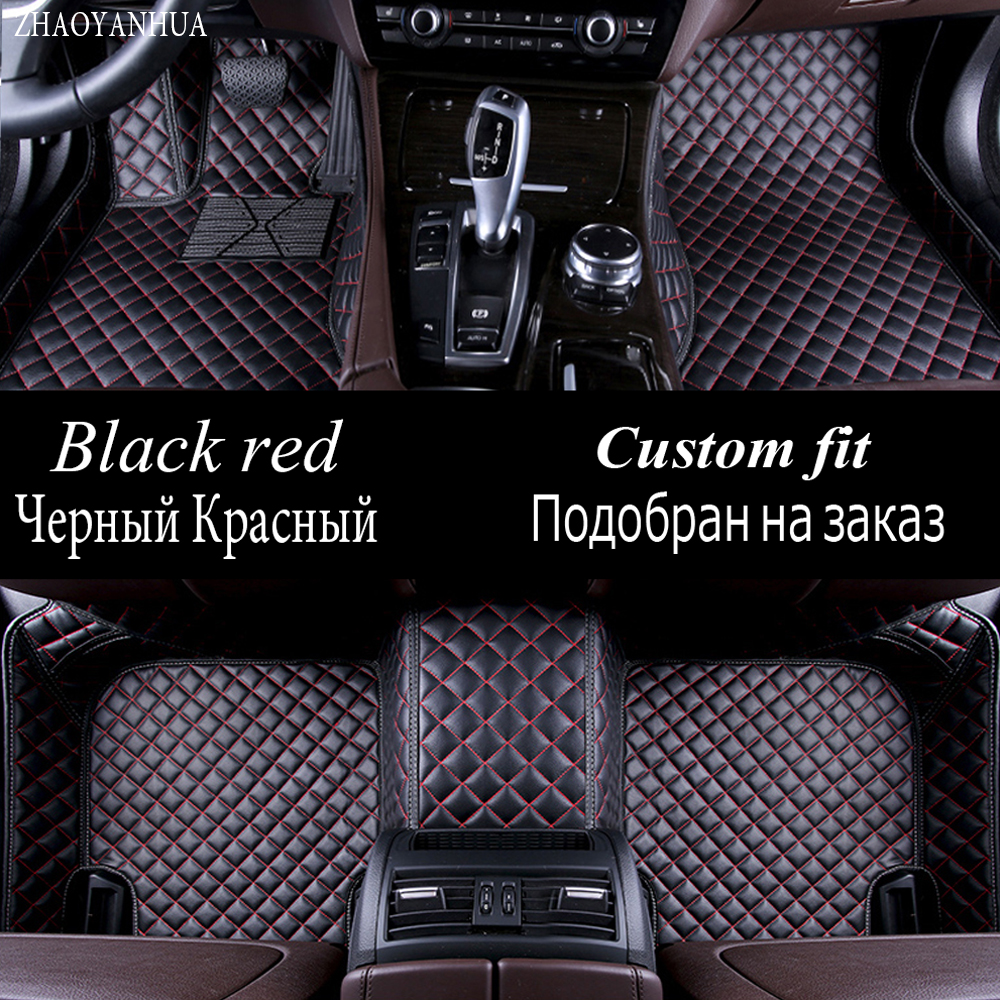ZHAOYANHUA Car floor mats for Chevrolet Cruze Malibu Sonic Trax Sail captiva epica 5D car styling carpet floor liner universal pu leather car seat covers for chevrolet cruze captiva trax lova sail auto accessories car styling auto stickers
