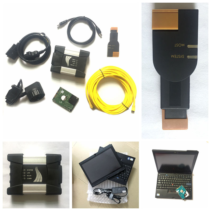 2018.05 For BMW ICOM A2 NEXT B C 3in1 Diagnostic&Programming Tool Latest Software ICOM A2 ISTA D P in X200t Laptop Touch Screen sale icom a2 only for bmw icom a b c diagnostic tool free shipping to russia