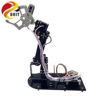 Original 5DOF Mechanical Arm Metal Structure Holder Kits / Metal Servo Horn for Robot Teaching Platform